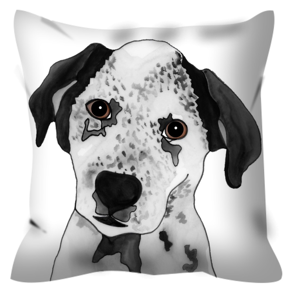 Blue Heeler Dog Outdoor Pillow - SMH