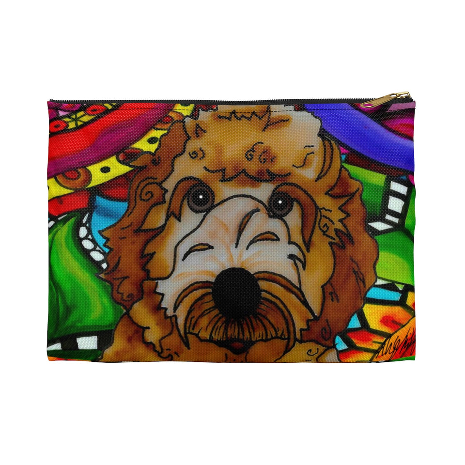 It's a Beautiful Labradoodle Life Zipper Pouch