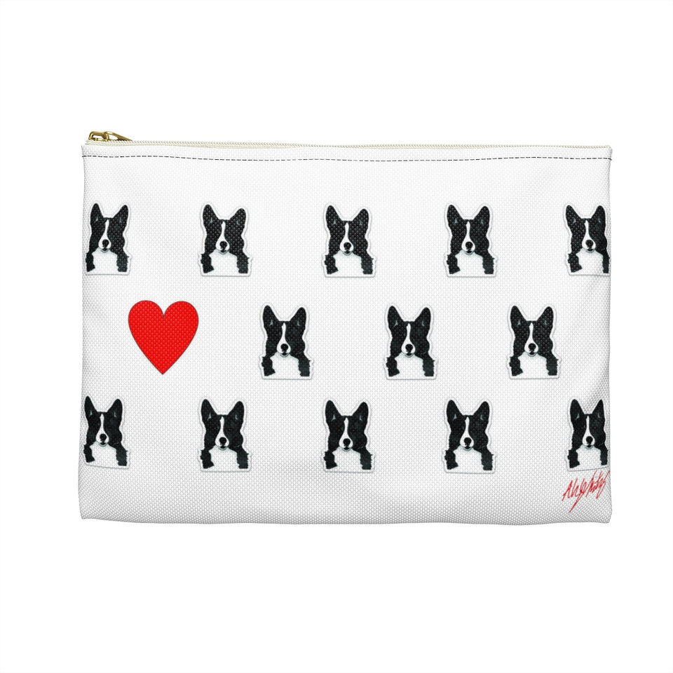 Corgi 2 Dog Zipper Pouch - SMH