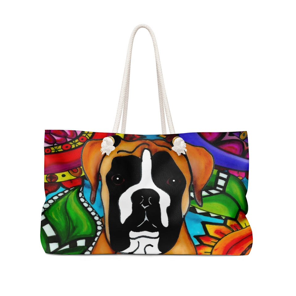 It's a Beautiful Boxer Life Weekender Tote