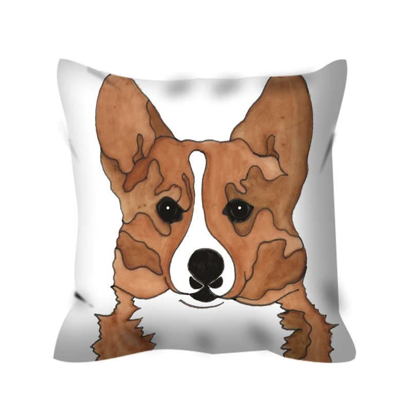 Corgi Dog Outdoor Pillow - SMH