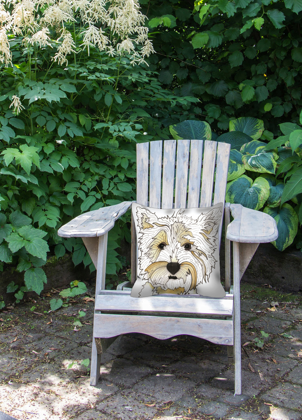 Highland Terrier Dog Outdoor Pillow - SMH