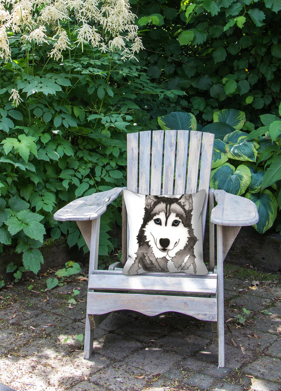 Husky Dog Outdoor Pillow - SMH