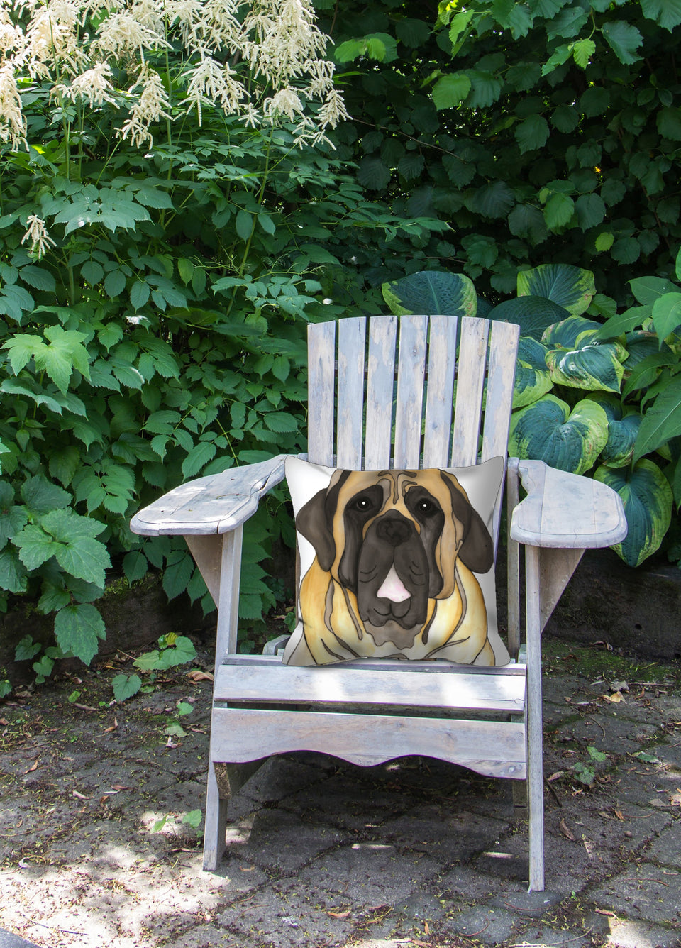 English Mastiff Dog Outdoor Pillow - SMH