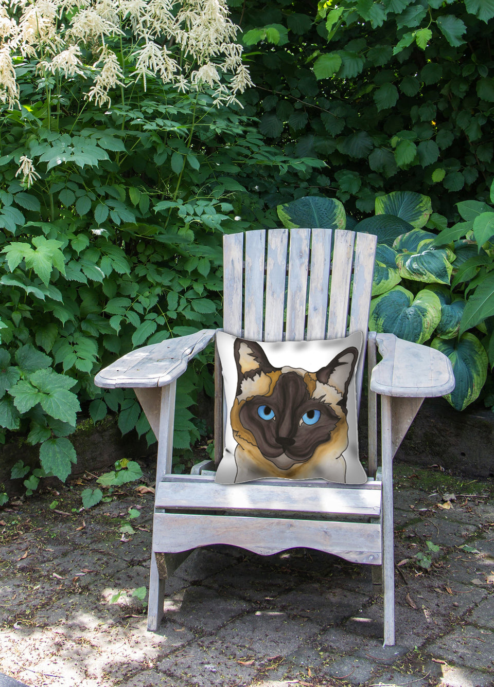 Siamese Cat Outdoor Pillow - SMH