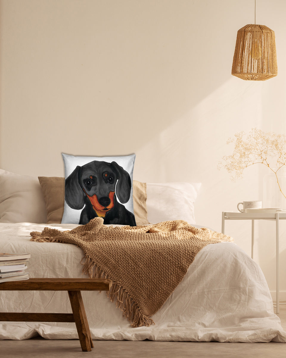 Dachshund Dog Indoor Pillow - SMH