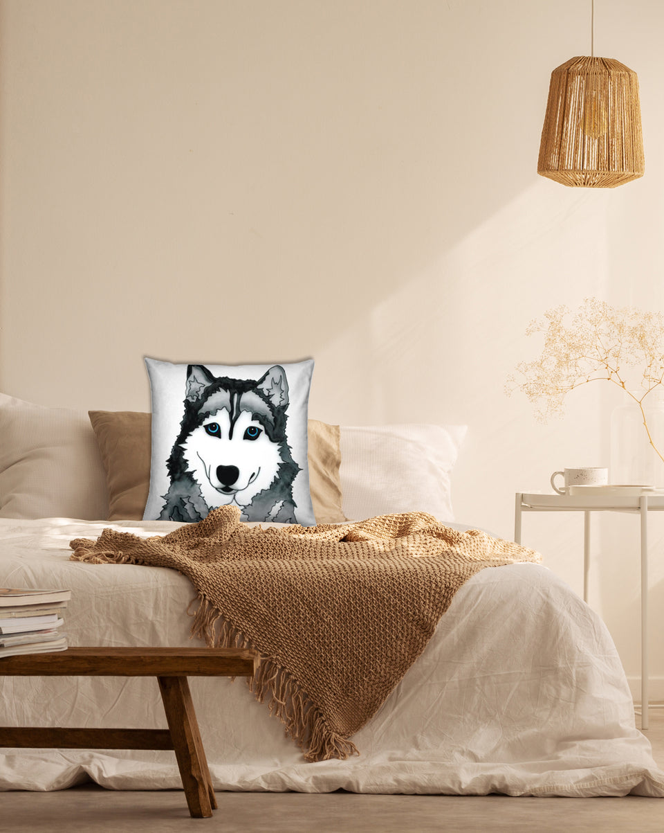 Husky Dog Indoor Pillow - SMH