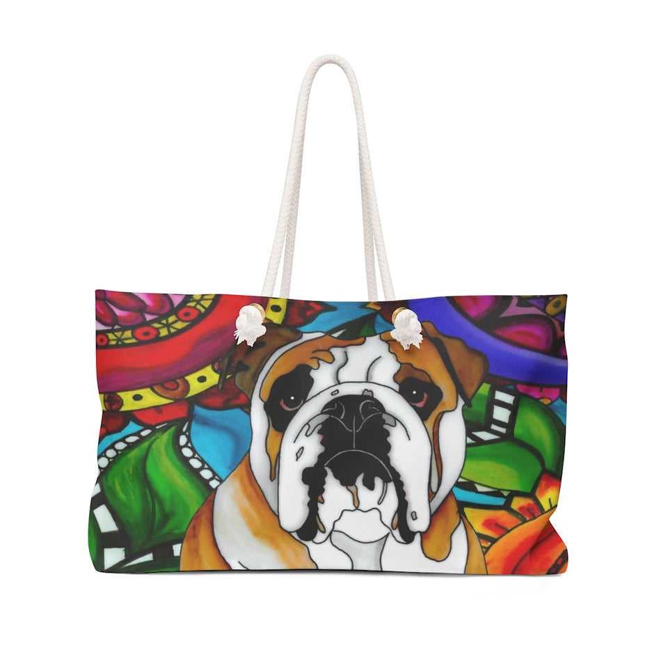 It's a Beautiful Bulldog Life Weekender Tote