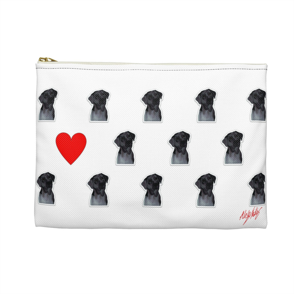 Chocolate Lab Dog Zipper Pouch - SMH