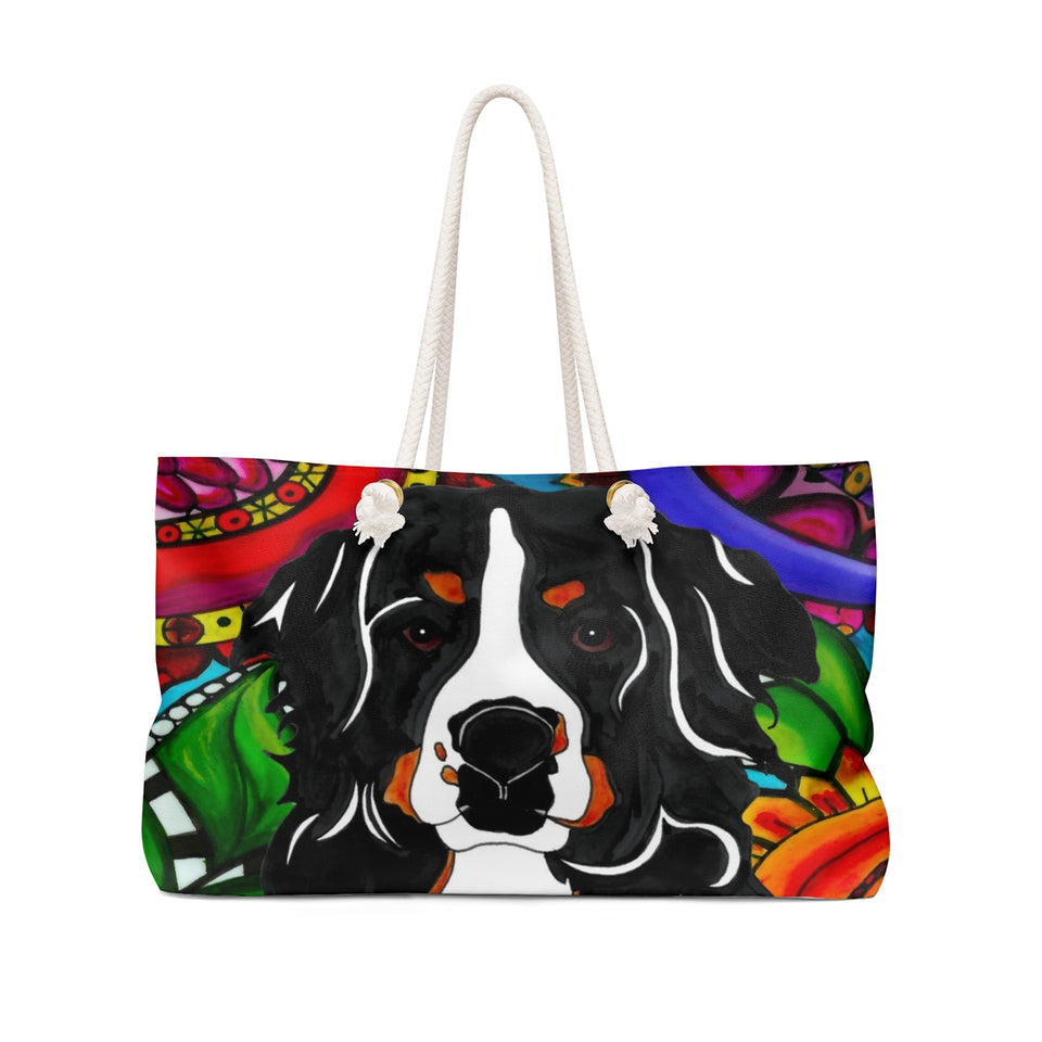 It's a Beautiful Bernese Mountain Life Weekender Tote