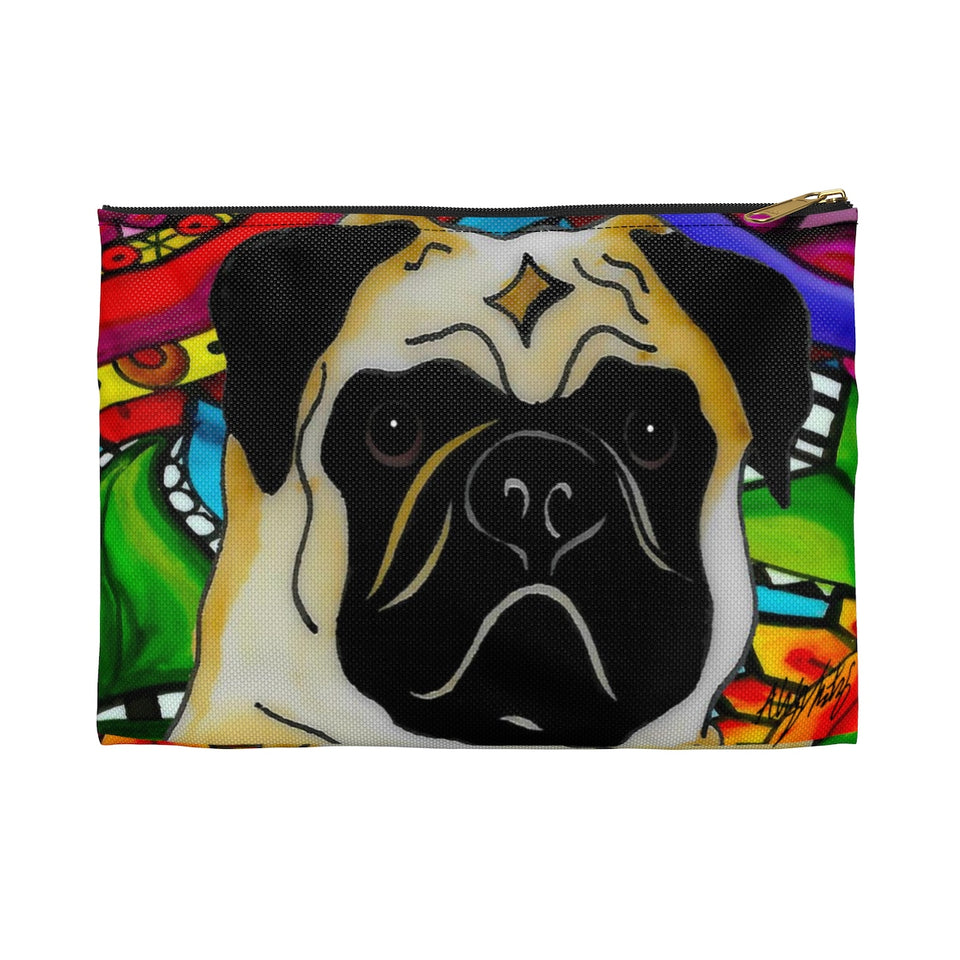 It's a Beautiful Pug Life Zipper Pouch