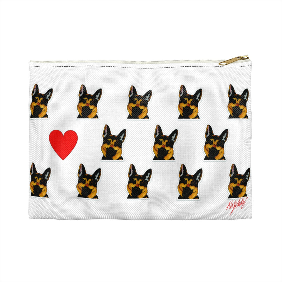 German Shepherd Dog Zipper Pouch- SMH