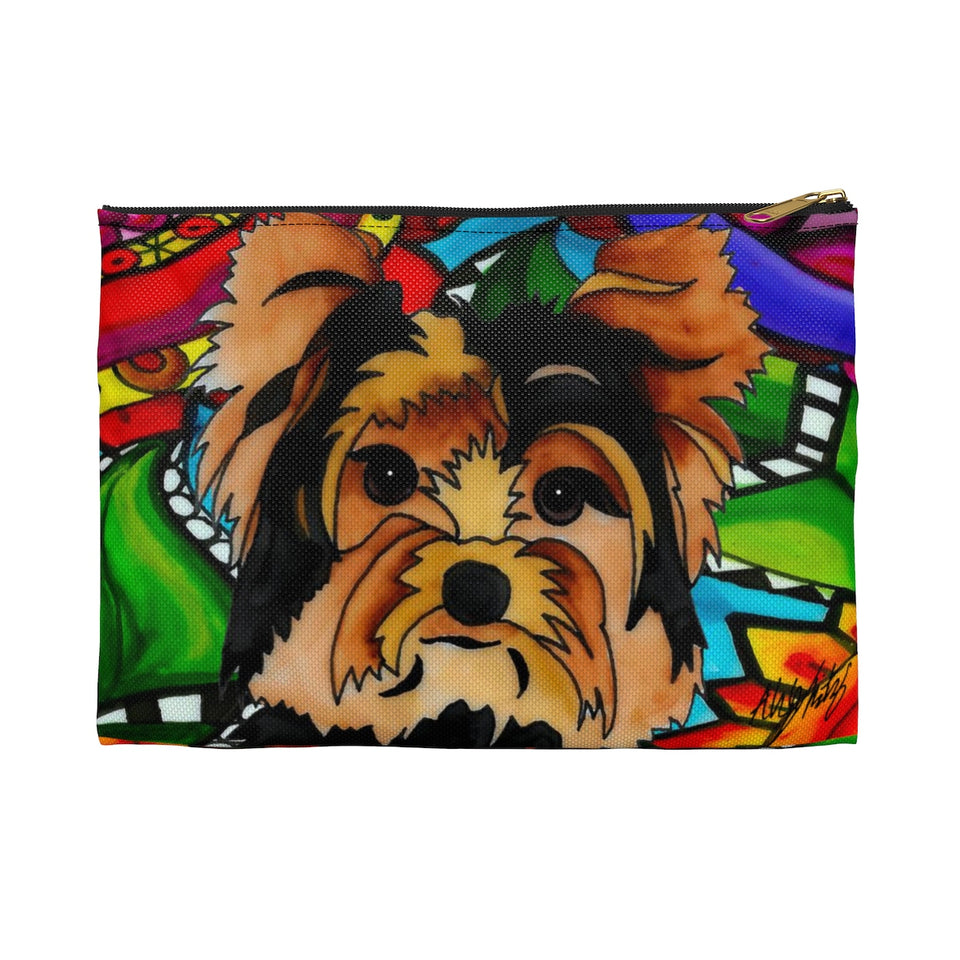 It's a Beautiful Yorkie Life Zipper Pouch