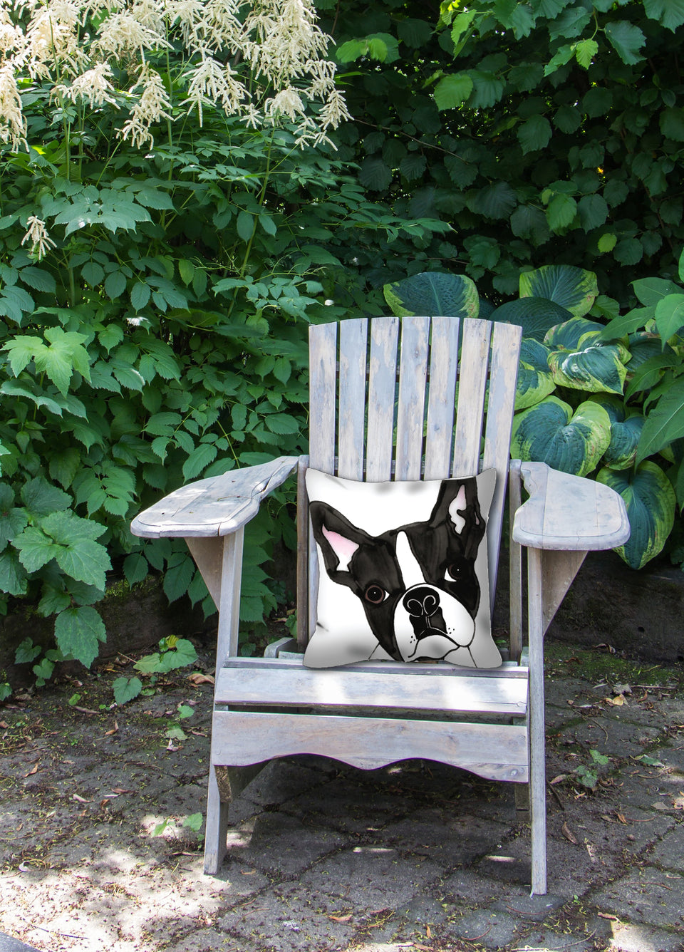 Boston Terrier Dog Outdoor Pillow - SMH