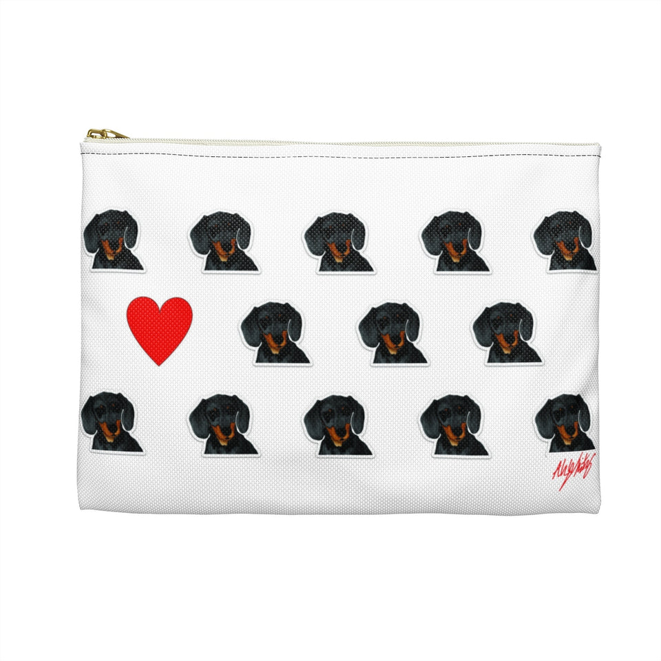 Dachshund Dog Zipper Pouch- SMH