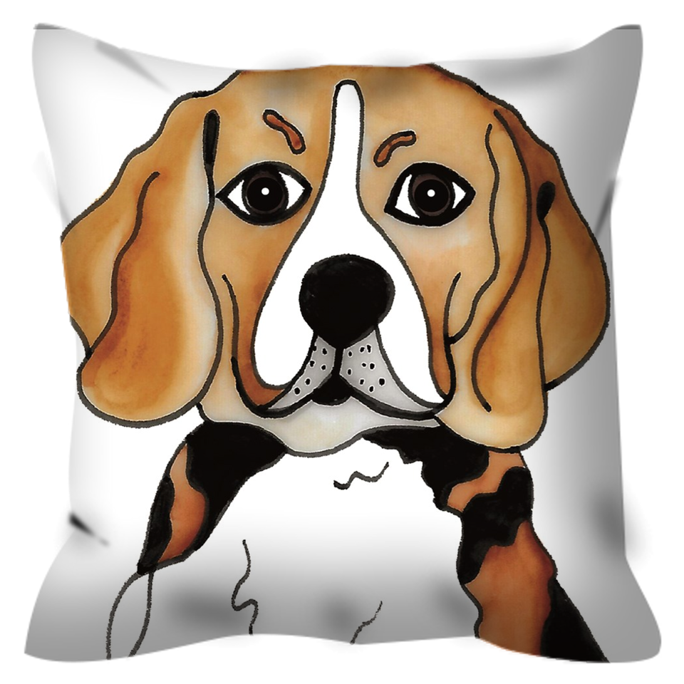 Beagle Dog Outdoor Pillow - SMH