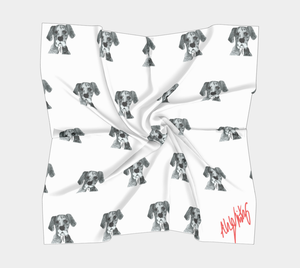 Great Dane Square Scarf