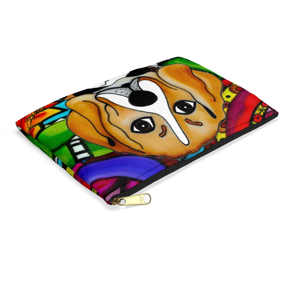 Beagle Dog Zipper Pouch- BL