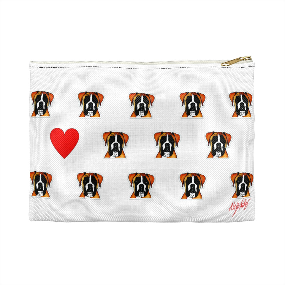 Boxer Dog Zipper Pouch - 1 - SMH