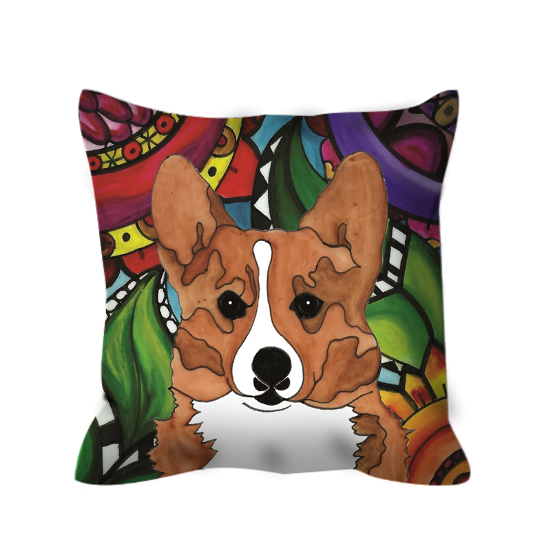 Corgi Dog Outdoor Pillow - BL