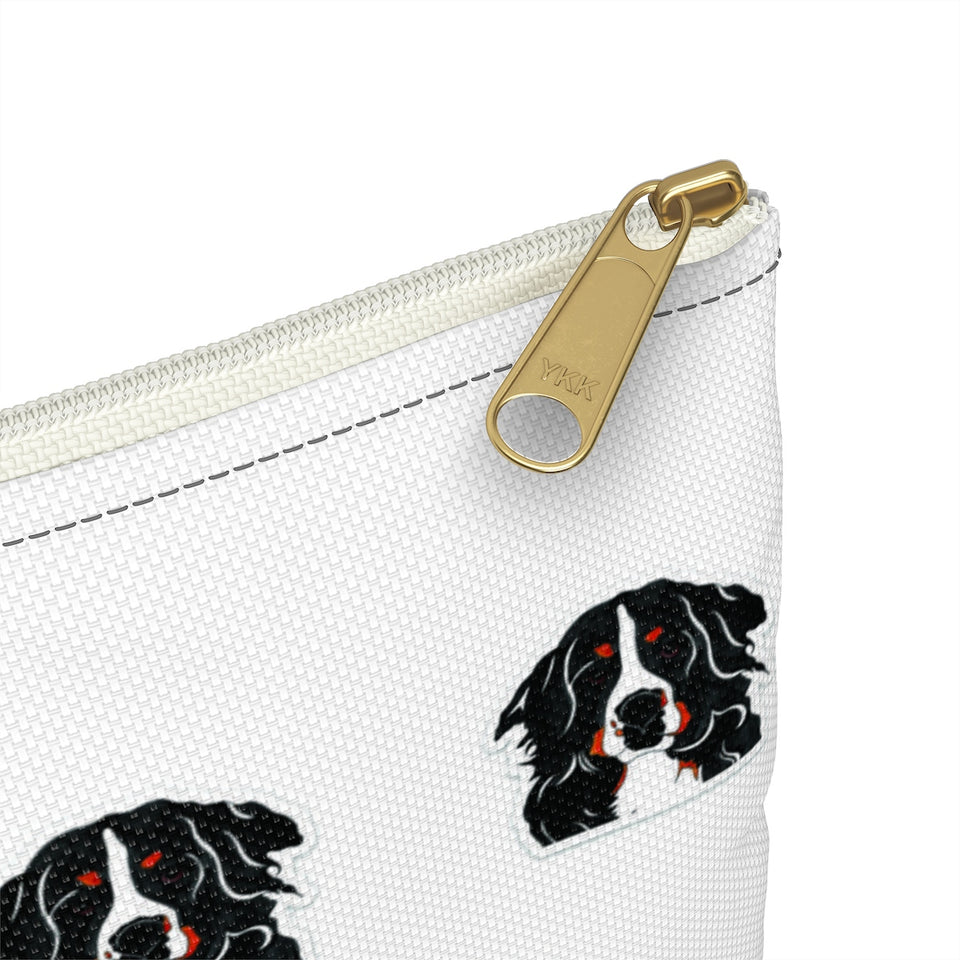 Bernese Mountain Dog Zipper Pouch- SMH