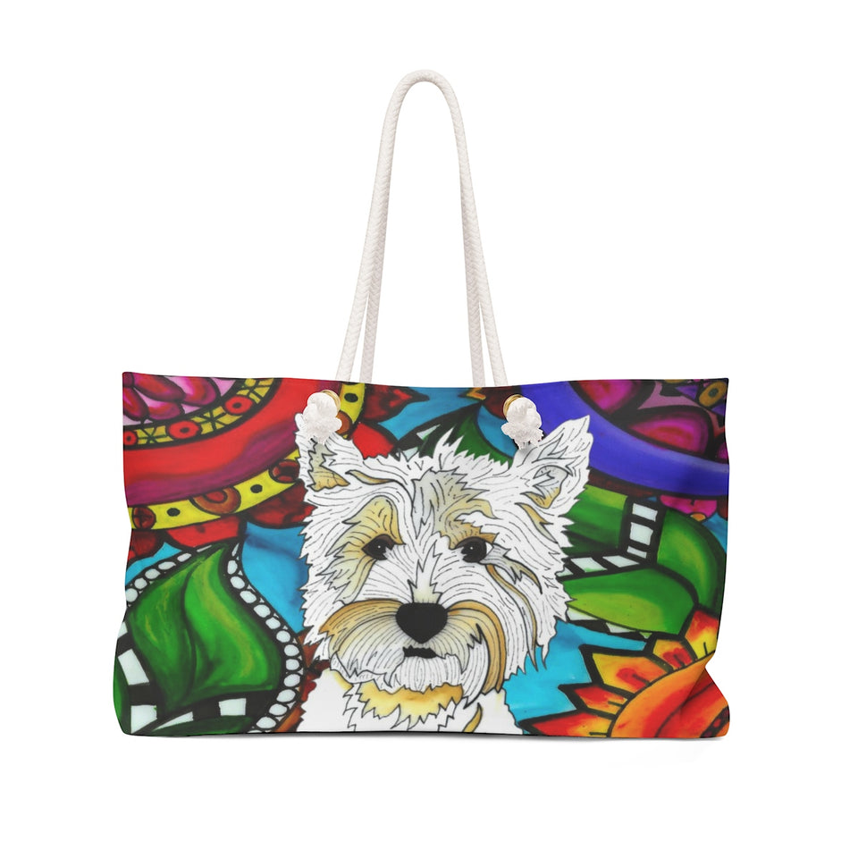 It's a Beautiful Highland Terrier Weekender Tote