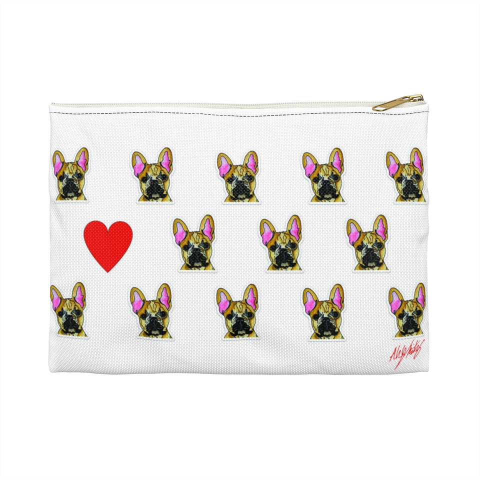 French Bulldog Zipper Pouch- SMH