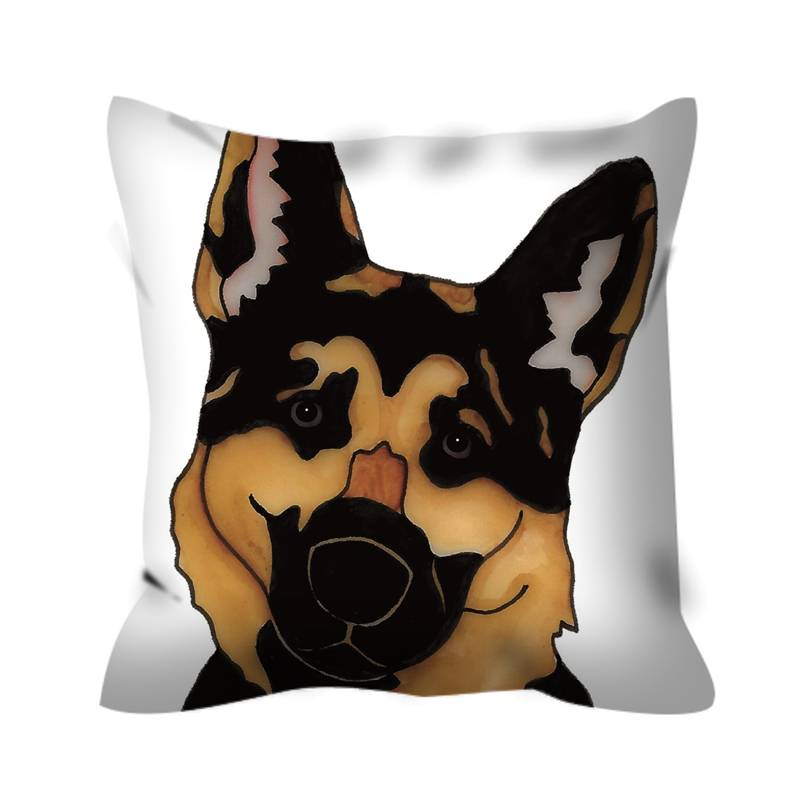 German Shepherd Dog Outdoor Pillow - SMH