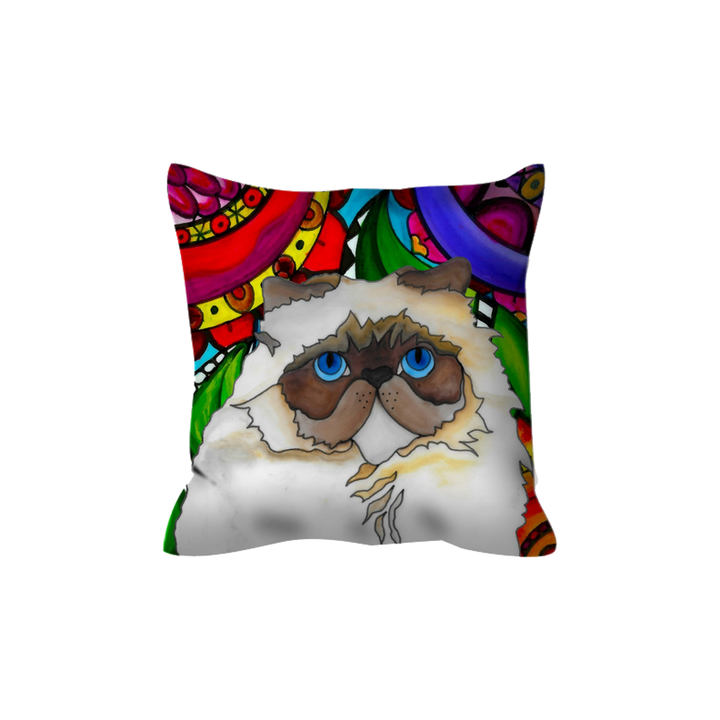 Persian Cat Outdoor Pillow - BL