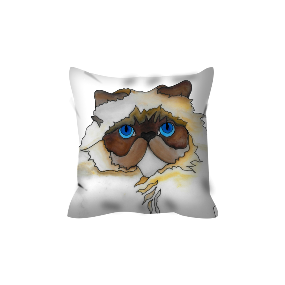 Stole My Heart Persian Outdoor Pillow