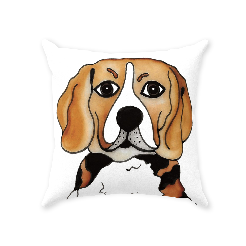 Beagle Dog Indoor Pillow - SMH