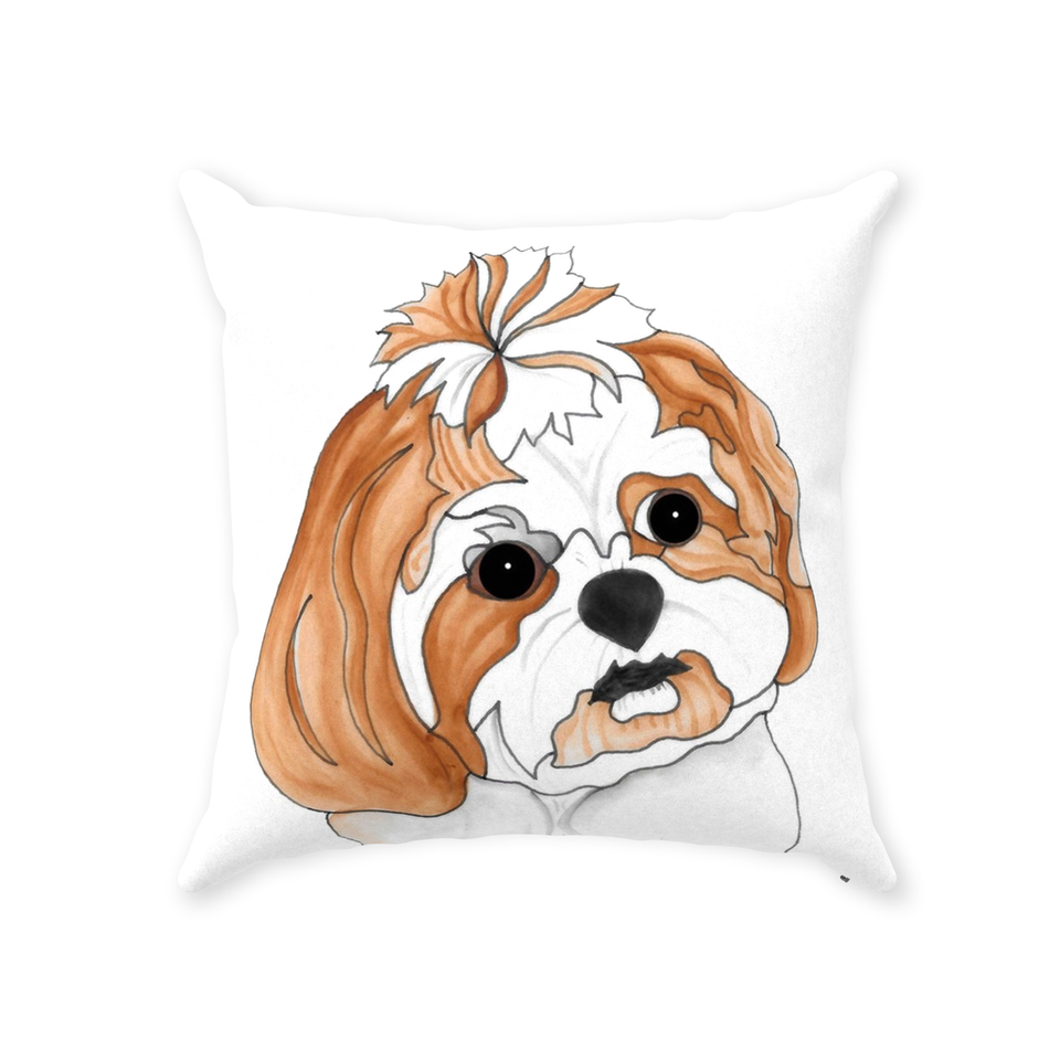 Shih Tzu Dog Indoor Pillow - 2 - SMH