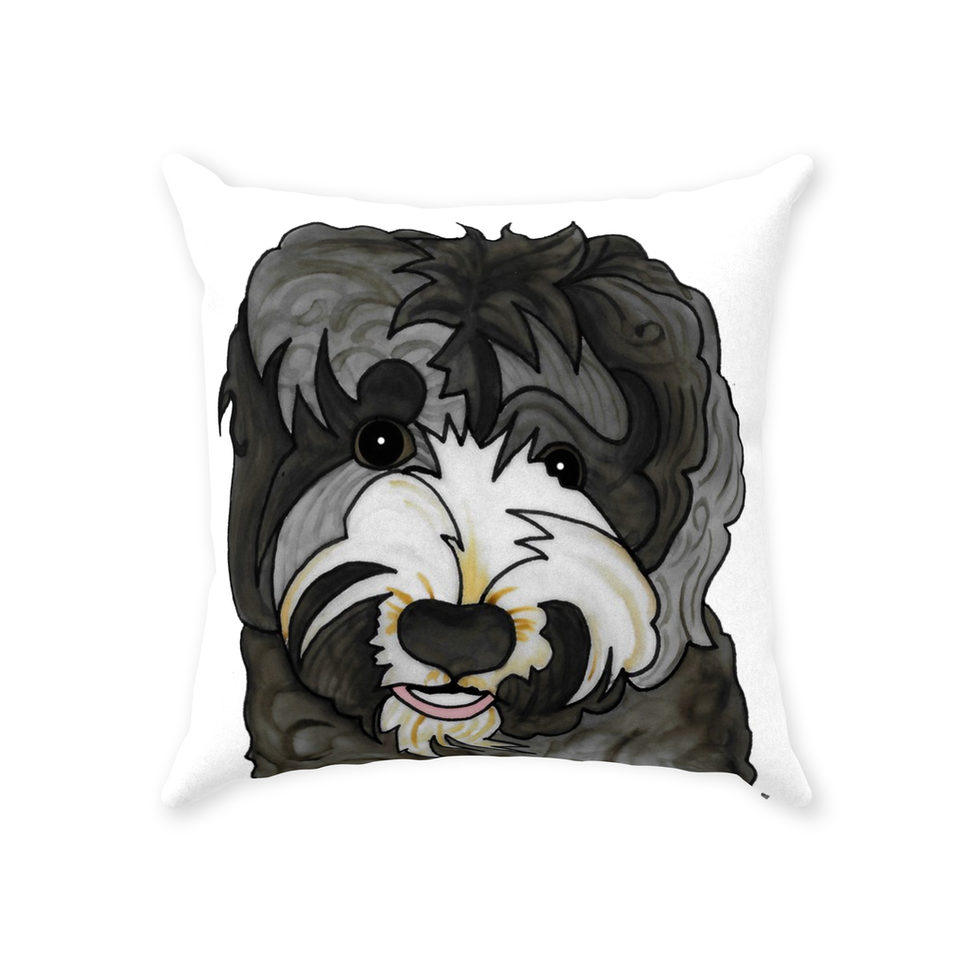 Australian Labradoodle Dog Indoor Pillow - SMH