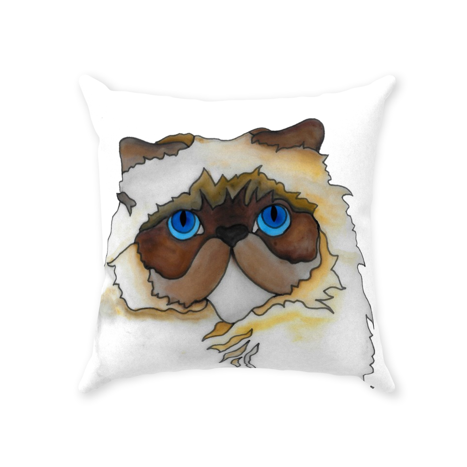 Persian Cat Indoor Pillow - SMH
