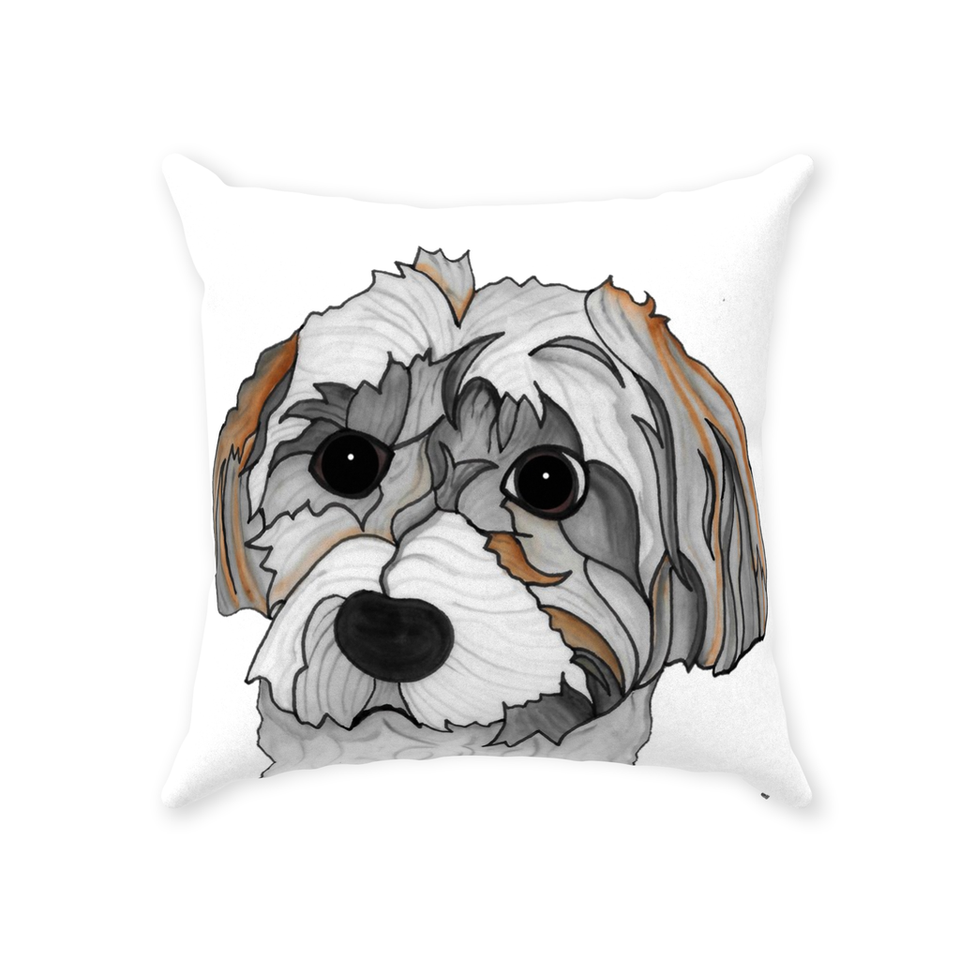 Havanese Dog Indoor Pillow - SMH