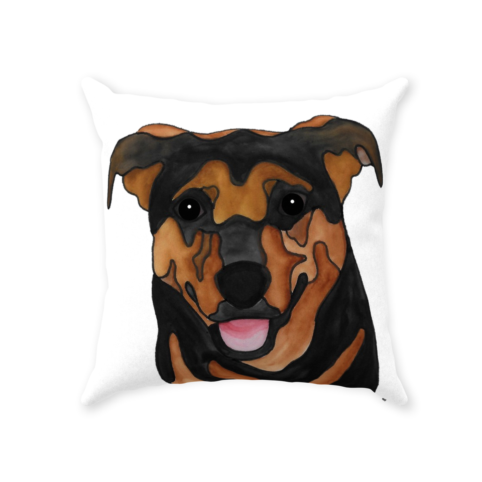 Mutt Dog Indoor Pillow - 8 - SMH