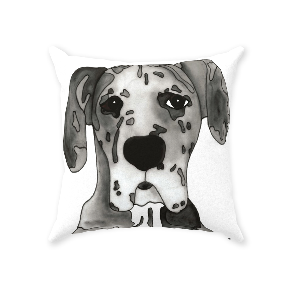 Great Dane Dog Indoor Pillow - SMH