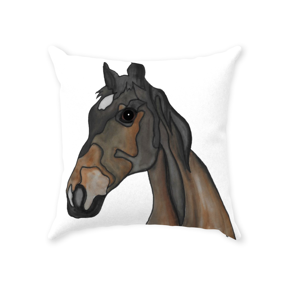 Horse Indoor Pillow - 1 - SMH