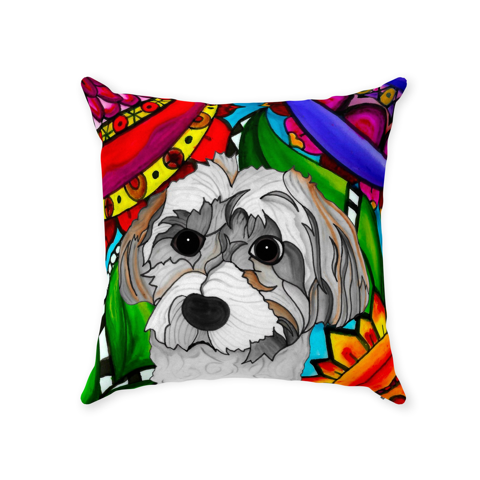 Havanese Dog Indoor Pillow - BL