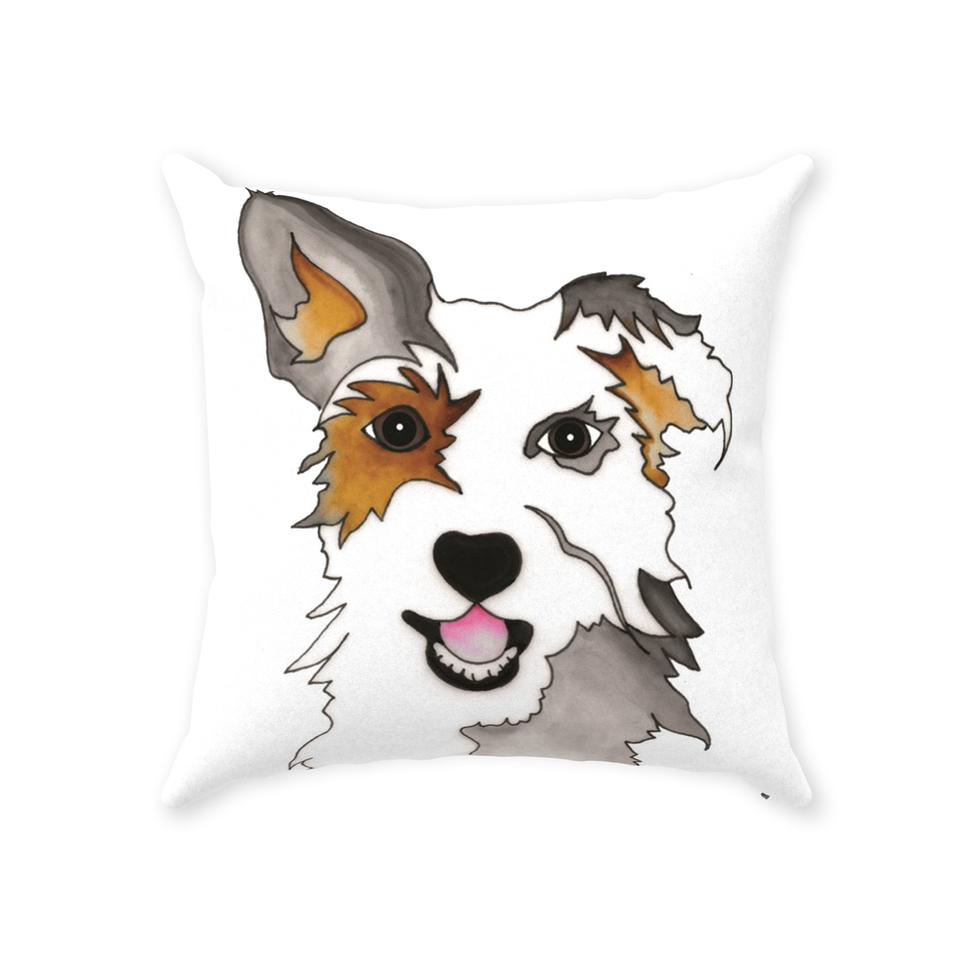 Mutt Dog Indoor Pillow - SMH