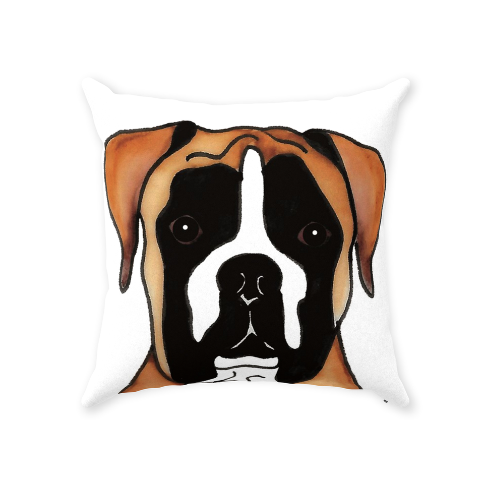 Boxer Dog Indoor Pillow - 1 - SMH
