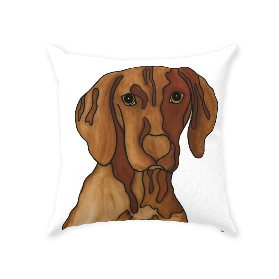 Vizsla Dog Indoor Pillow - SMH