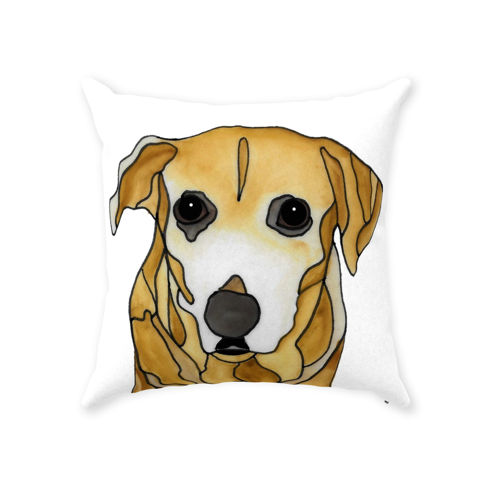 Mutt Dog Indoor Pillow - 10 - SMH
