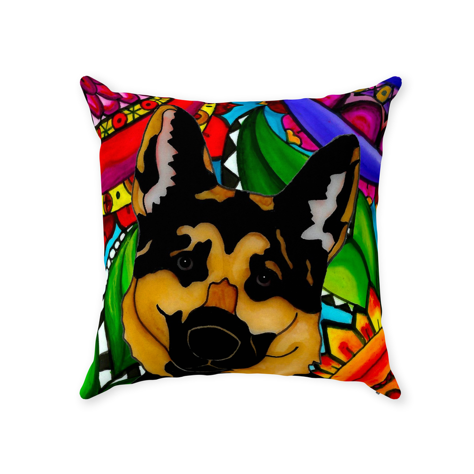 German Shepherd Dog Indoor Pillow - BL