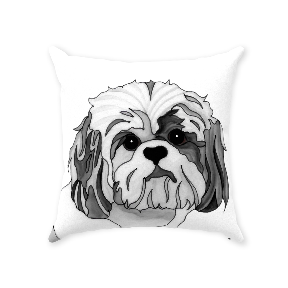 Mutt Dog Indoor Pillow - 9 - SMH