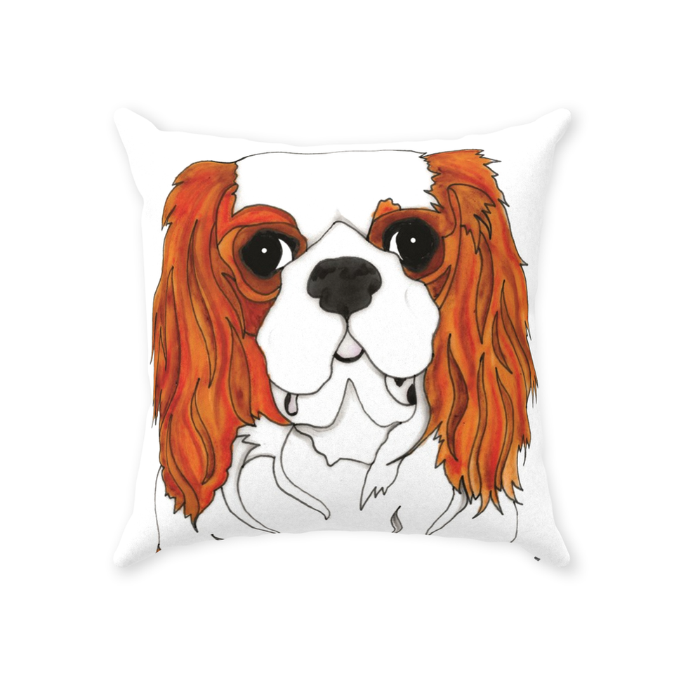 Cavalier King Charles Spaniel Dog Indoor Pillow - SMH