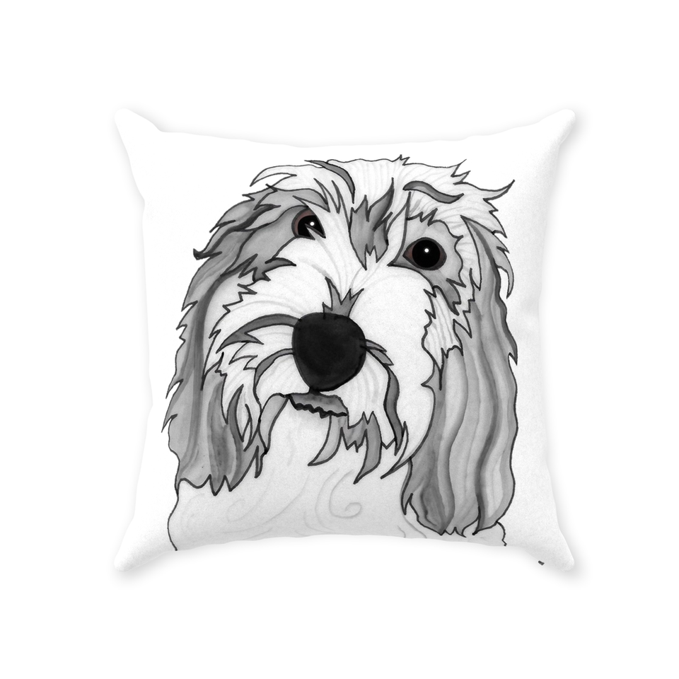 Petit Basset Griffon Vendeen Dog Indoor Pillow - SMH