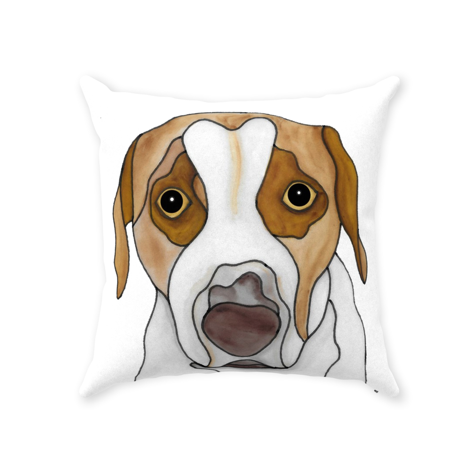 Mutt Dog Indoor Pillow - 6 - SMH