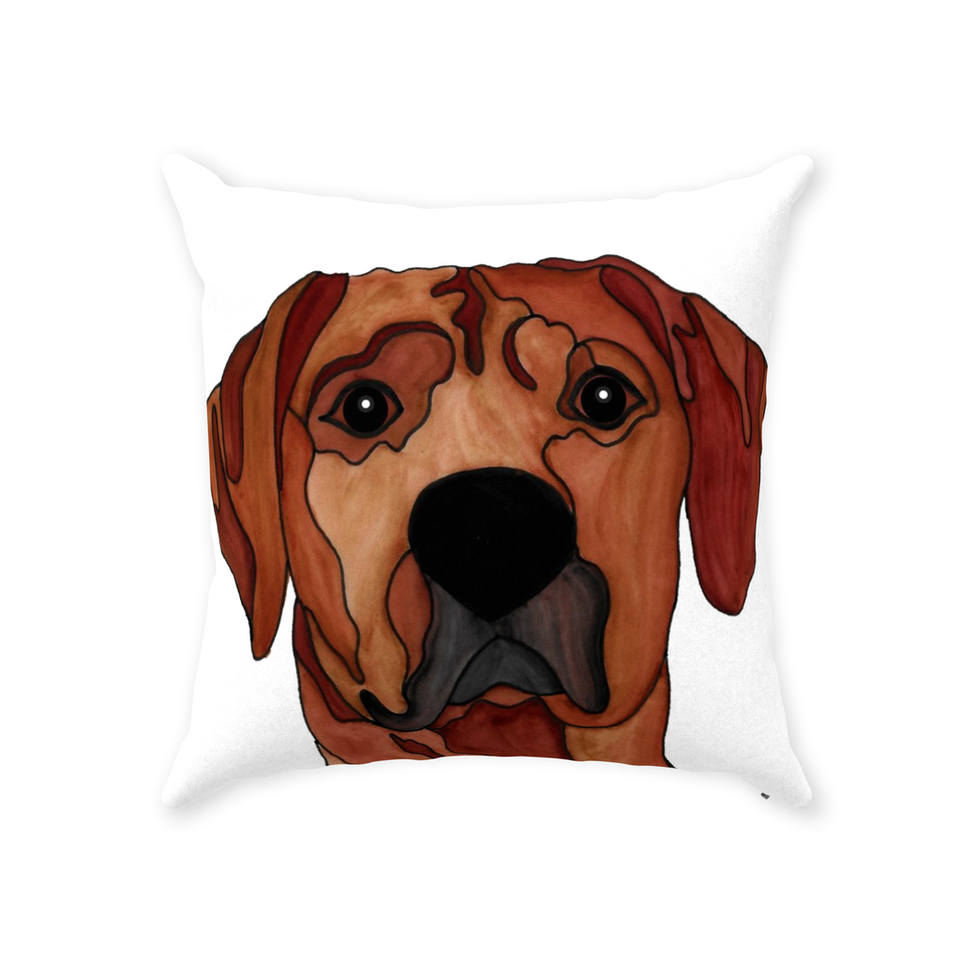 Rhodesian Ridgeback Dog Indoor Pillow - SMH