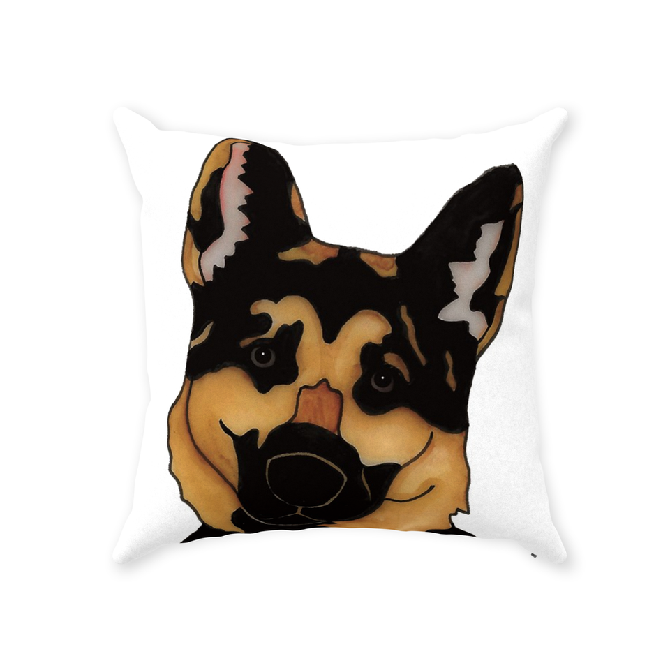 German Shepherd Dog Indoor Pillow - SMH